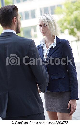 business handshake - csp42303755