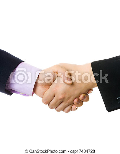 Business handshake - csp17404728