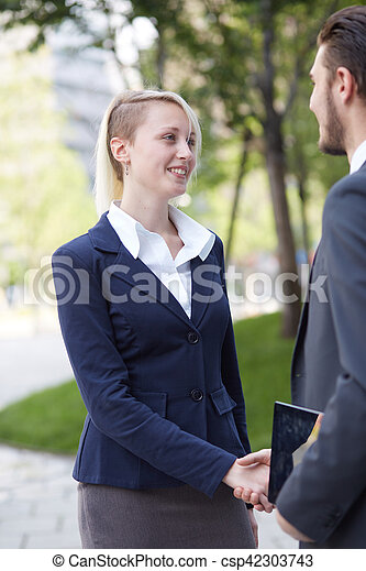 business handshake - csp42303743