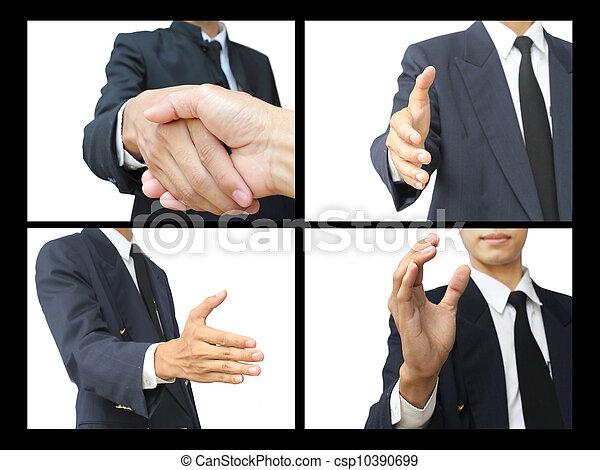 Business handshake - csp10390699