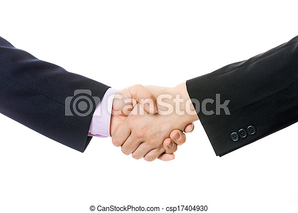 Business handshake - csp17404930