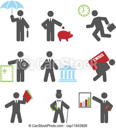 Business icon  - csp11643928