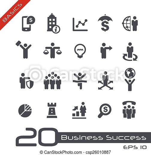 Business Icon Set -- Basics - csp26010887