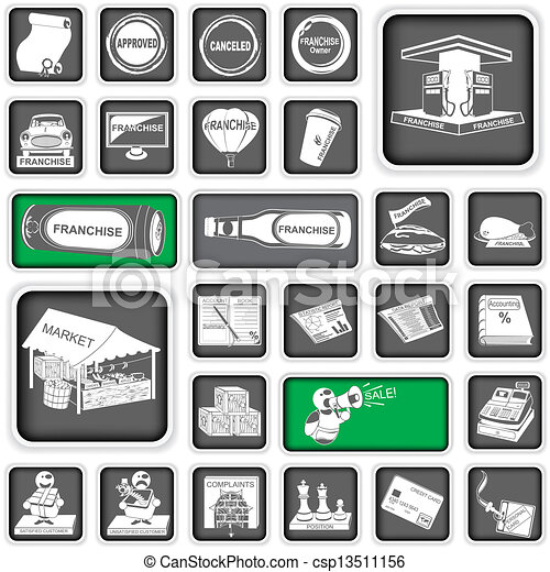 business icons 2 - csp13511156