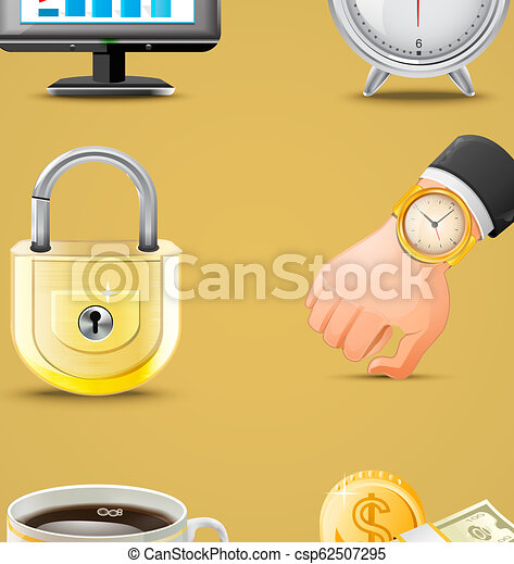 Business icons big set vector illustration - csp62507295