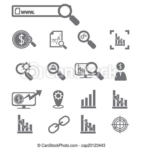 Business icons - csp20123443