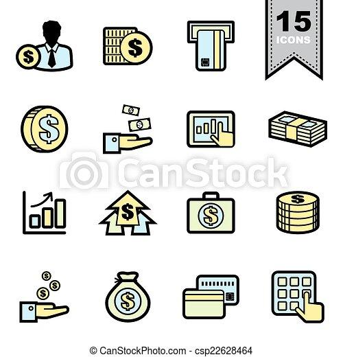 Business icons set  - csp22628464