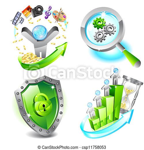 Business icons set - csp11758053