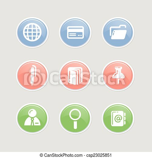 Business Icons Set - csp23025851