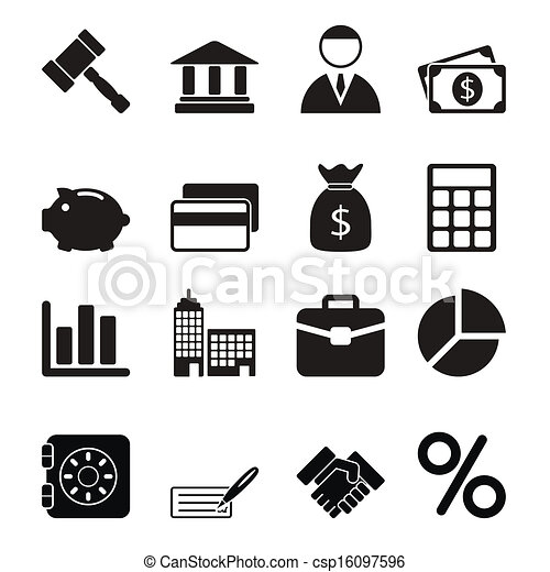 Business Icons Set - csp16097596