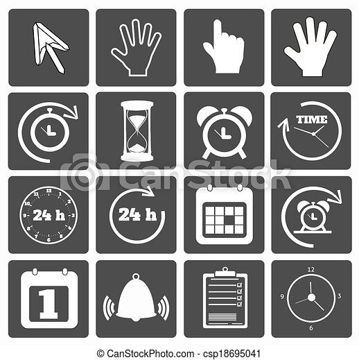 Business icons set - csp18695041