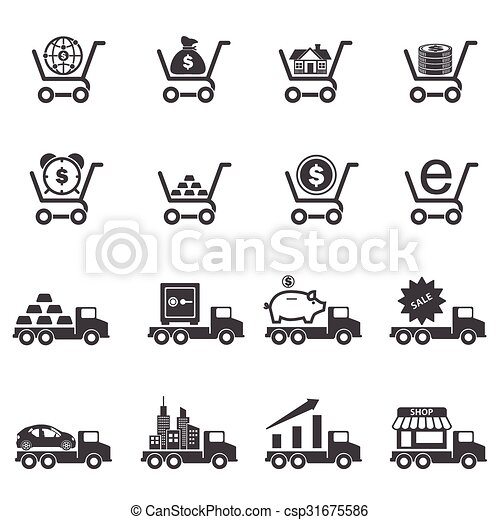 Business Icons set - csp31675586