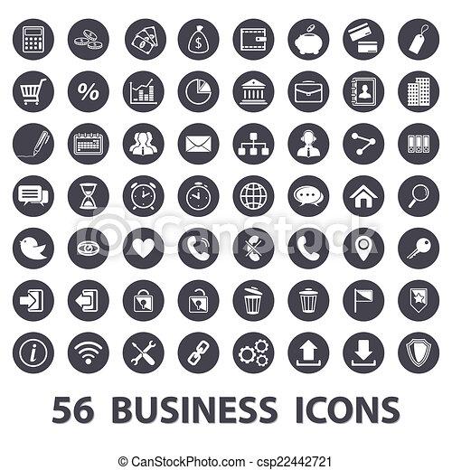 Business icons set - csp22442721