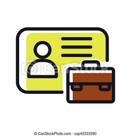 business id card icon color eps vectors search clip art rh canstockphoto com business card clipart for bookkeepers business card clip art free