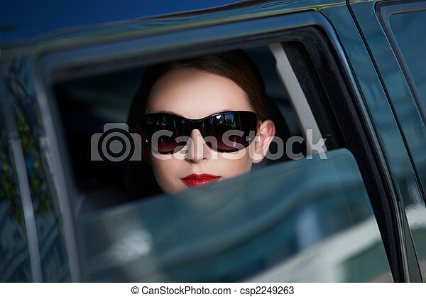 Business in Limo - csp2249263