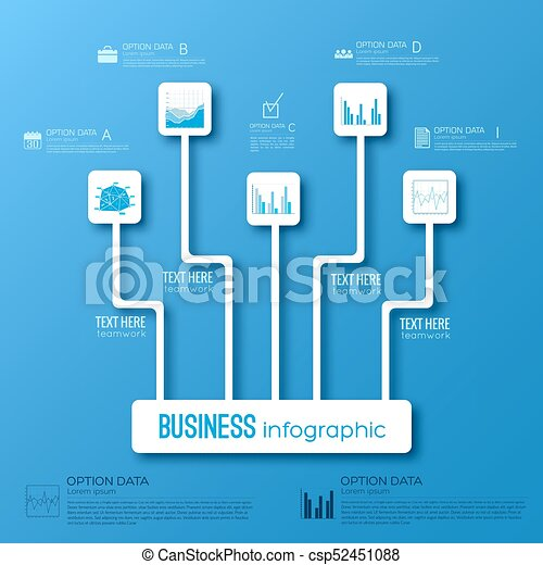 business infographic flowchart concept business infographic