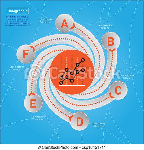 Business Infographic. - csp18451711