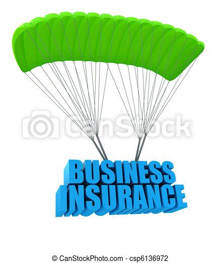 Business insurance concept - csp6136972