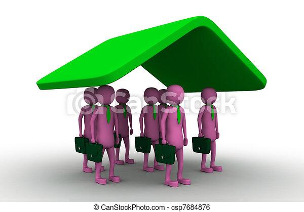 Business Insurance - csp7684876