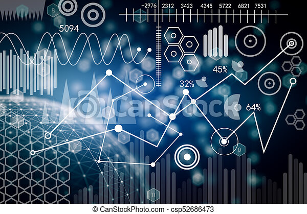 Business Interface Wallpaper Creative Blurry Digital