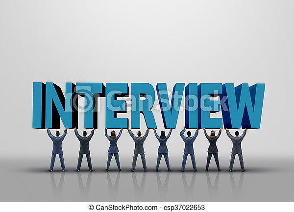 Business Interview Concept - csp37022653