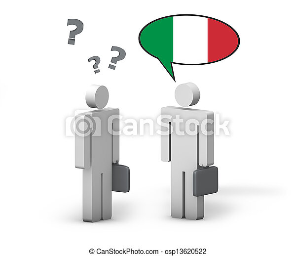 Business Italian Concept - csp13620522
