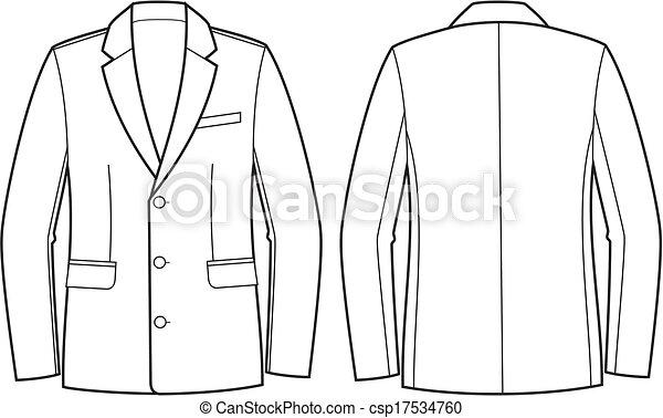Business jacket - csp17534760