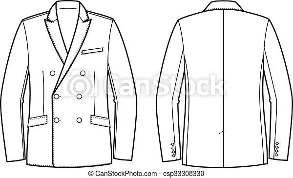 Business jacket - csp33308330