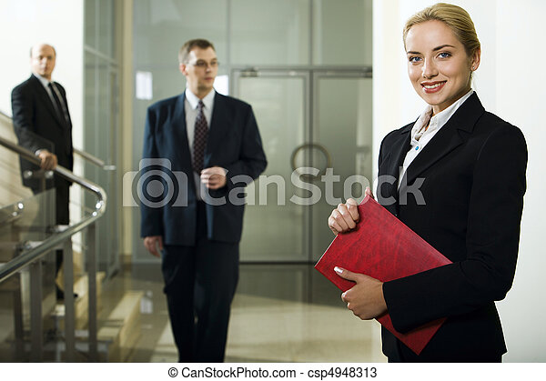 Business lady - csp4948313