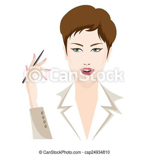Business lady - csp24934810