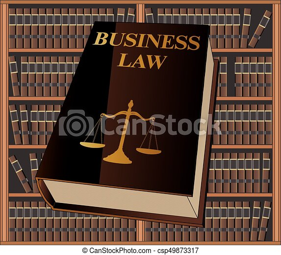 Business Law - csp49873317