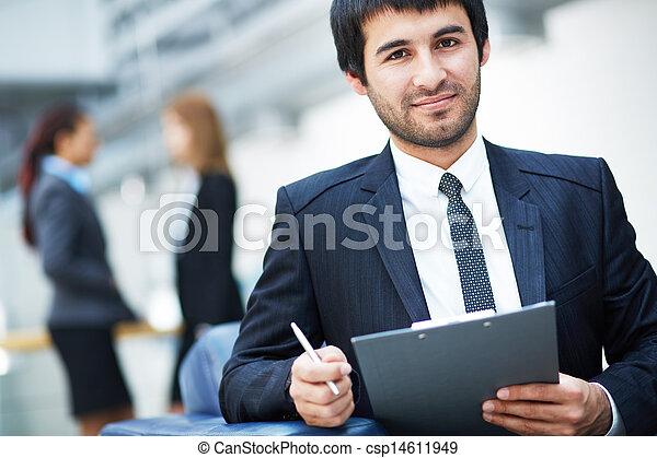 Business leader - csp14611949
