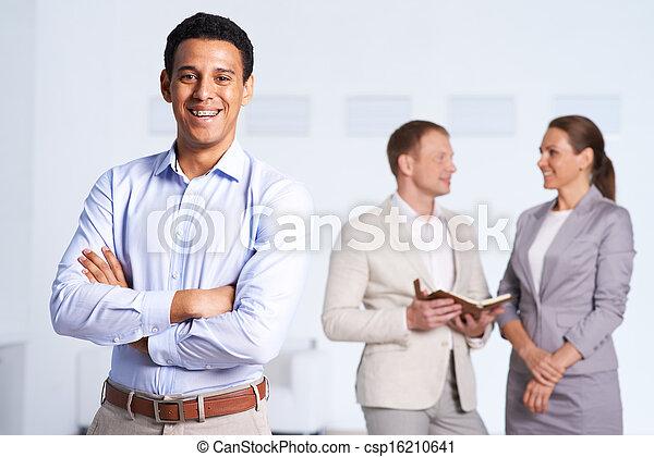 Business leader - csp16210641