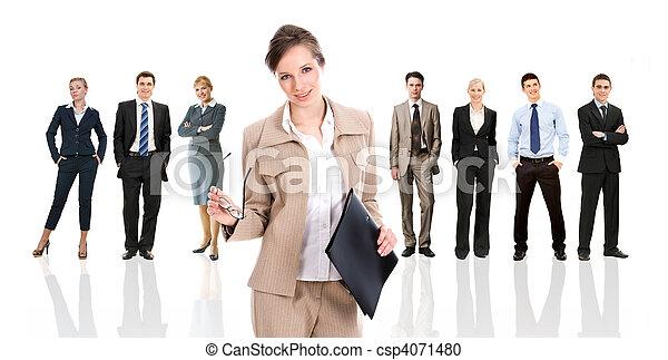 Business leader - csp4071480