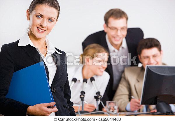 Business  leader - csp5044480