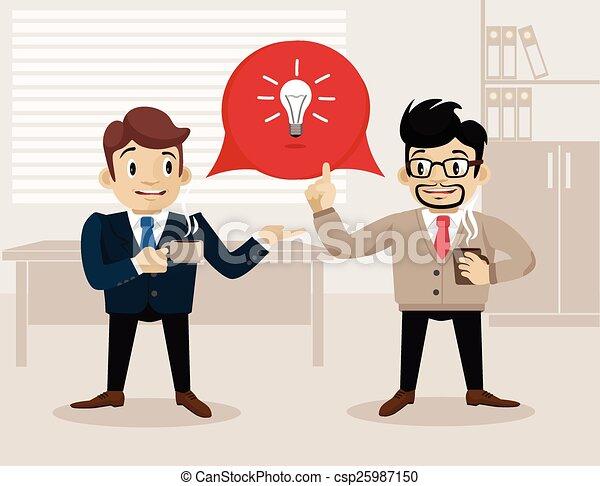Business life - csp25987150
