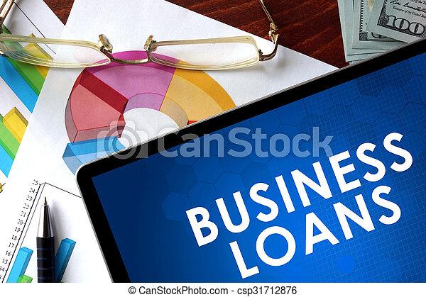 Business loans - csp31712876