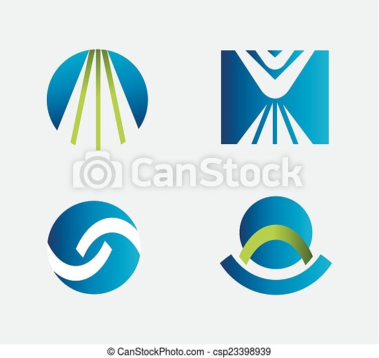 Business logo Icons Set - csp23398939