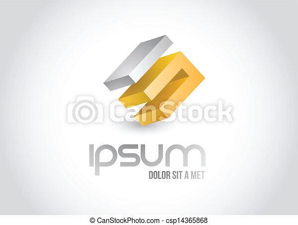 business logo symbol illustration design - csp14365868