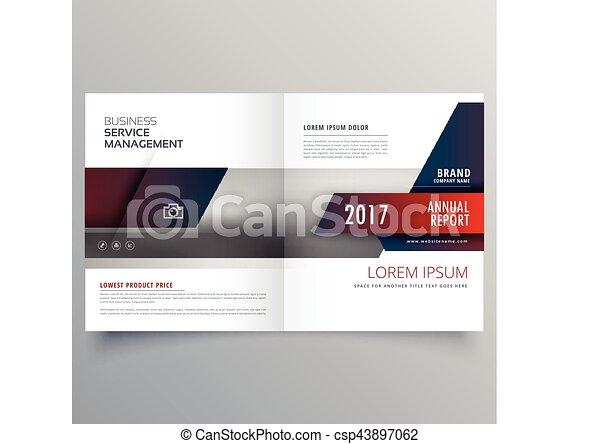 Business magazine bifold brochure template with creative design business magazine bifold brochure template with creative design accmission Choice Image