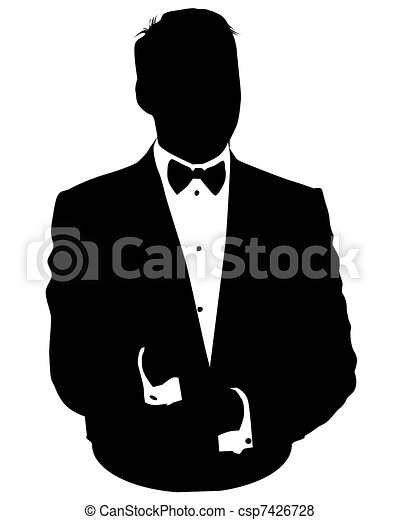 Business man avatar in suit
