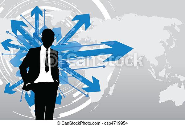 business man - csp4719954