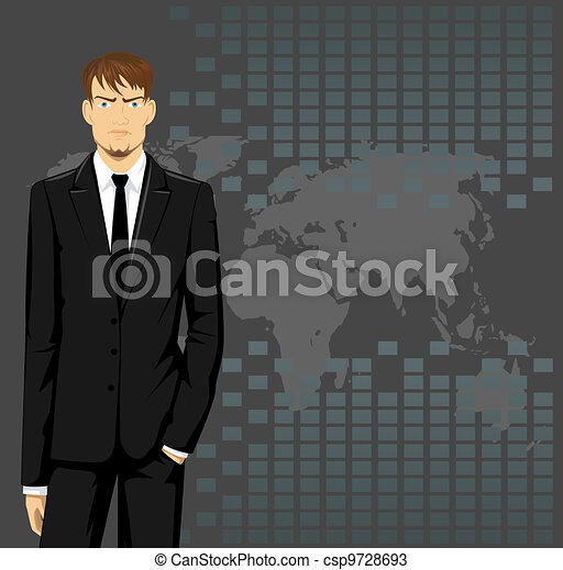 Business man - csp9728693