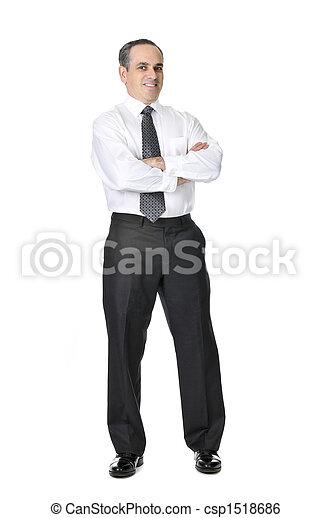Business man in suit - csp1518686