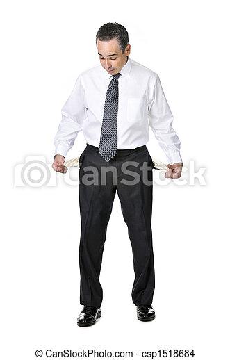 Business man in suit - csp1518684