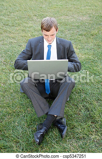 Business man - csp5347251