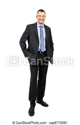 business man - csp6715581