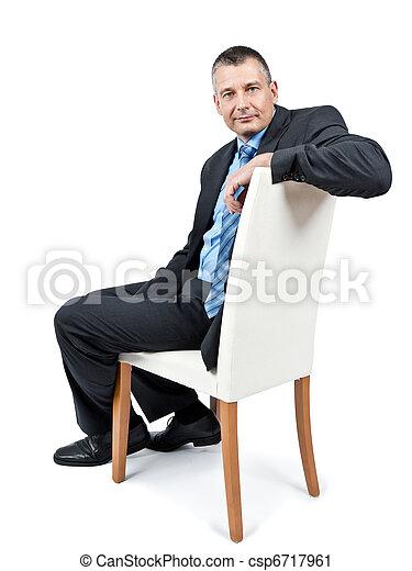 business man - csp6717961