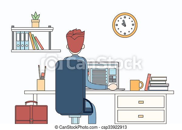 Line Art Laptop : Gamer man lying on sofa with laptop person and comfort home