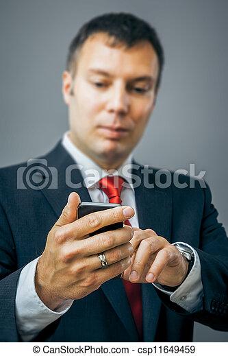 business man - csp11649459